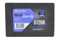 24749 SSD-накопитель 512GB Qumo Novation TLC 3D